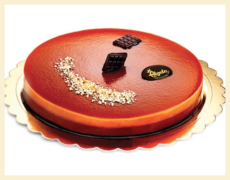 Torta caramel immagine